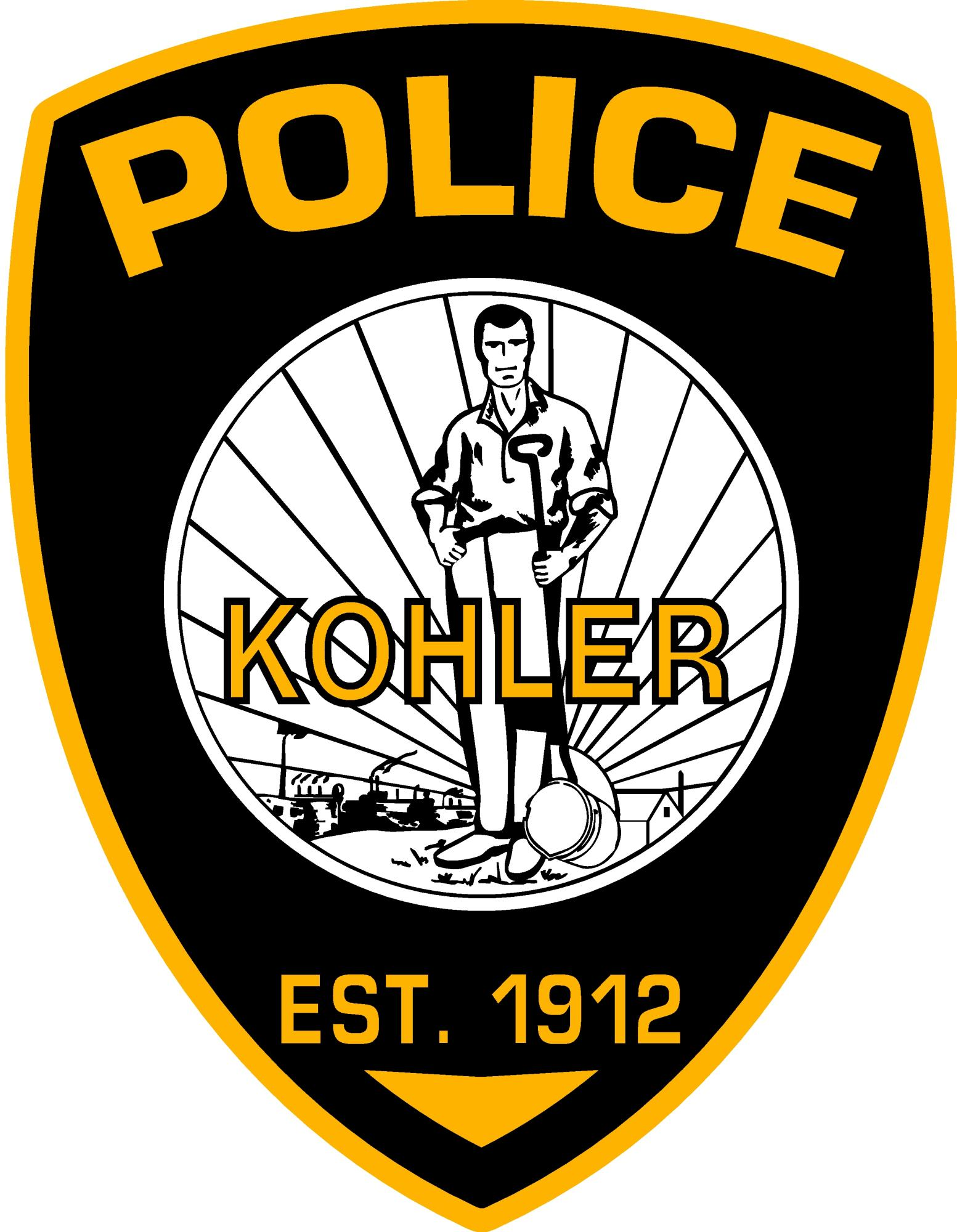 Kohler Police Department Logo